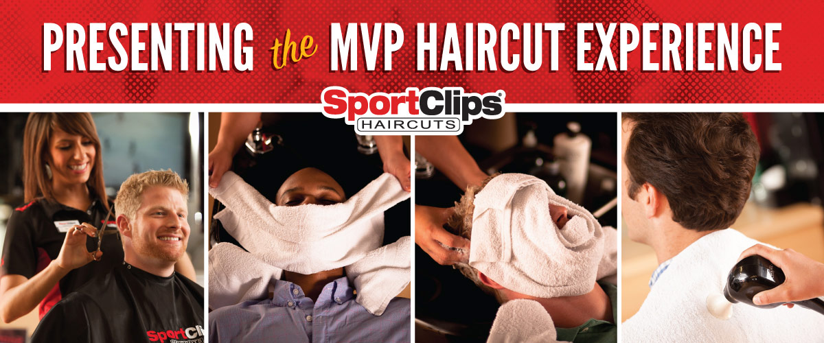 The Sport Clips Haircuts of Westfield MVP Haircut Experience